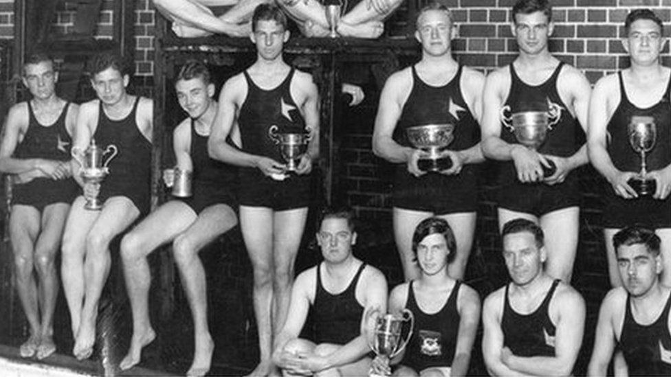 Reading Water-polo Club (c. 1930).