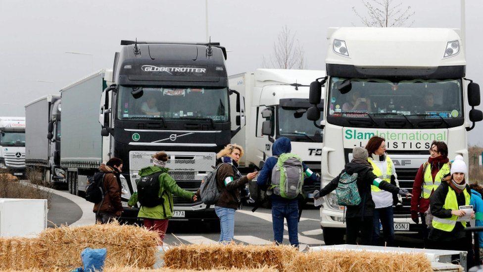 Black Friday backlash: Protests against Amazon erupt across France