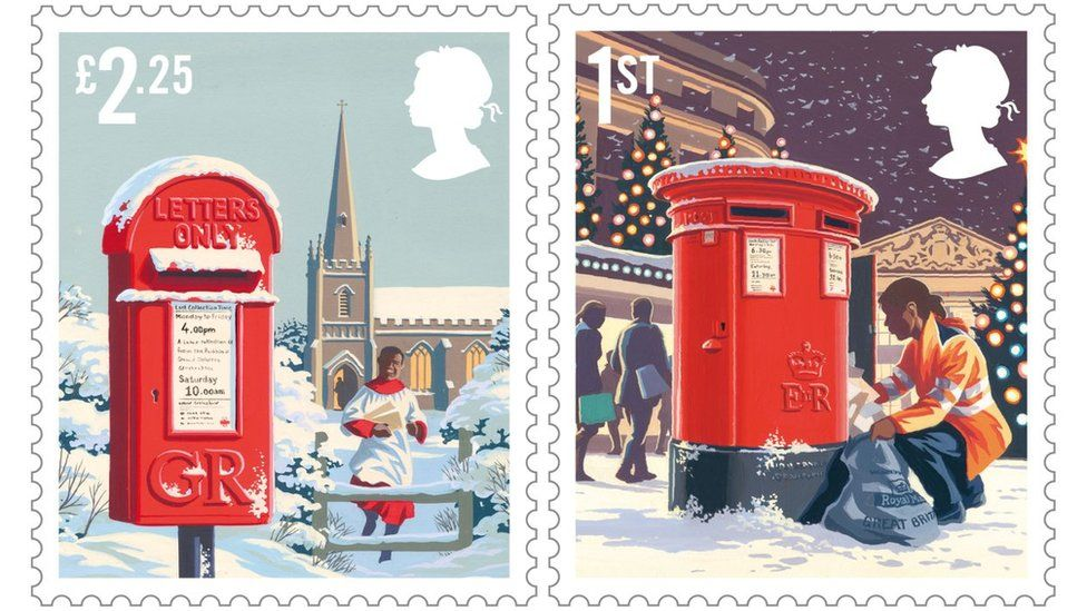 2018 Christmas stamp designs