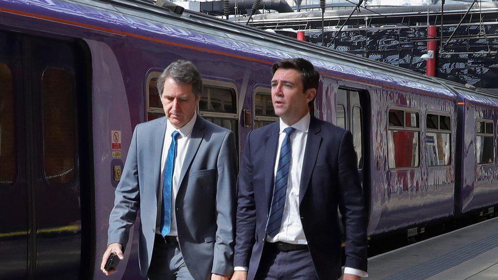 Steve rotheram and Andy burnham