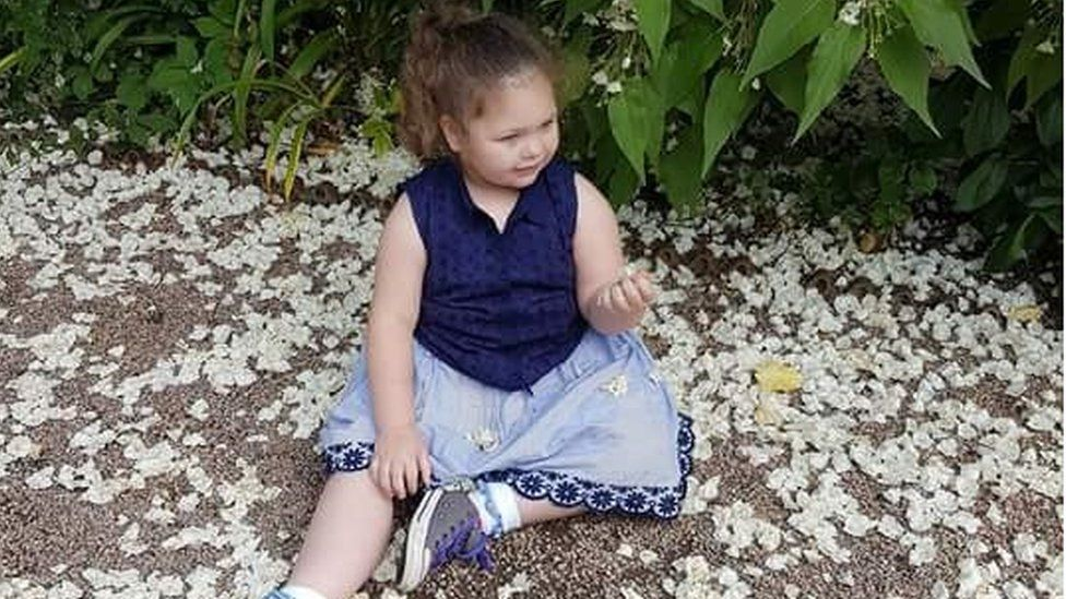 Sophia Gibson, from Newtownards, County Down, suffers from Dravet Syndrome