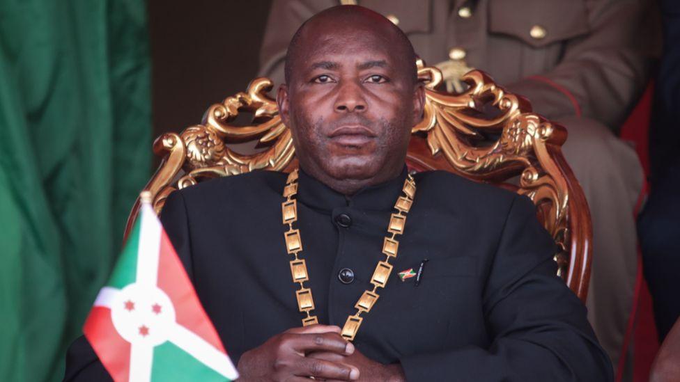 Burundi's President Évariste Ndayishimiye