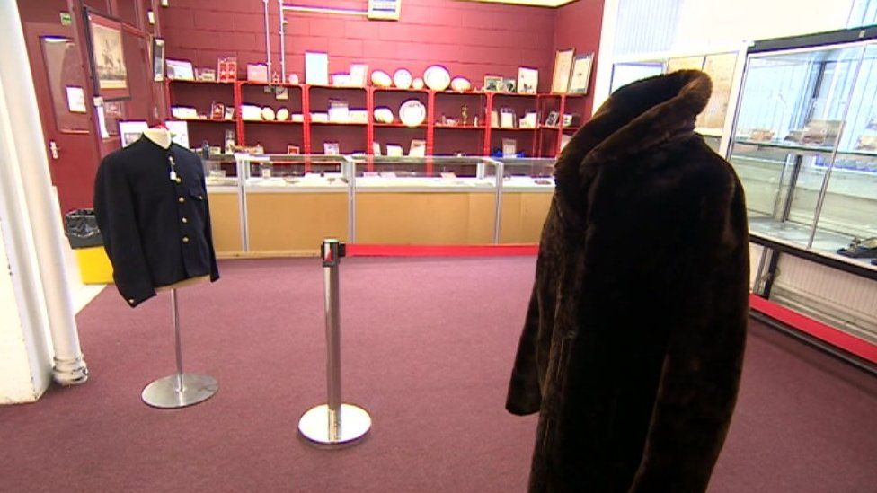 Fur coat worn by Mabel Bennett