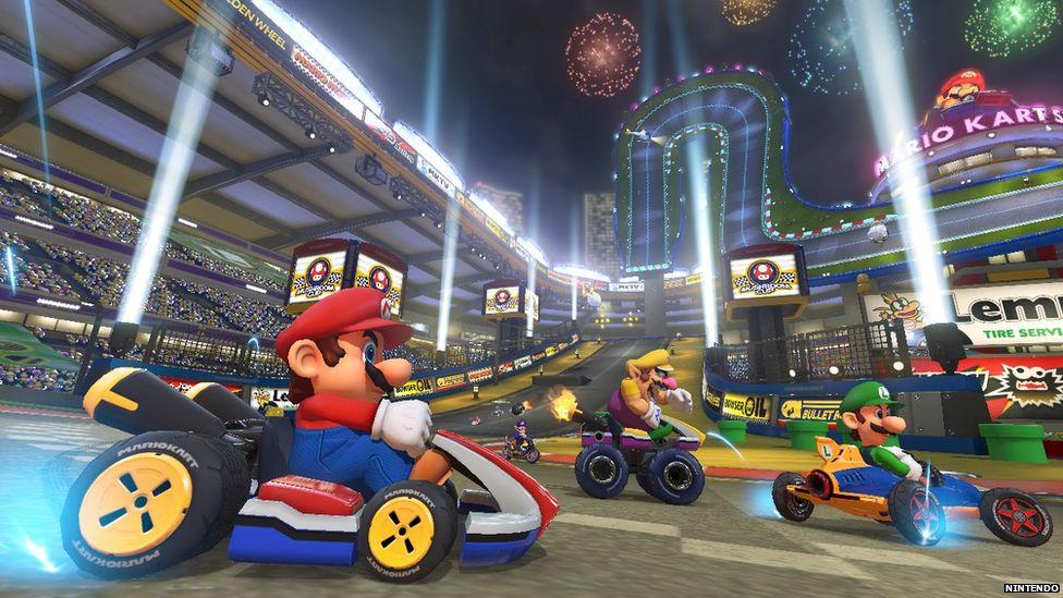 Mario Kart Gameplay