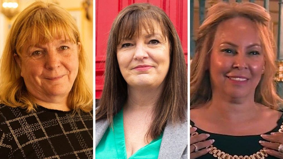 Wendy Simon, Ann O'Byrne and Anna Rothery