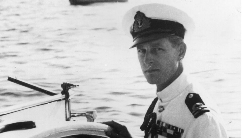 Prince Philip in uniform
