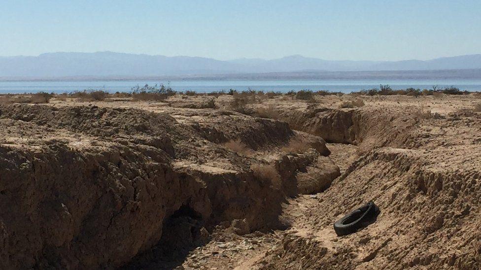 Cómo es la vida al filo de la peligrosa y temida falla de San Andrés