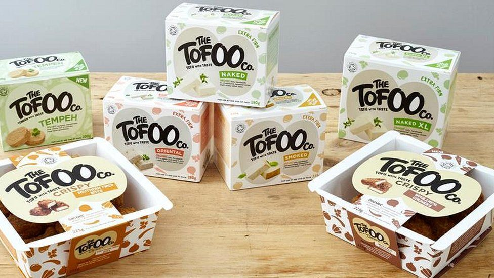 Tofu products from The Tofoo Co