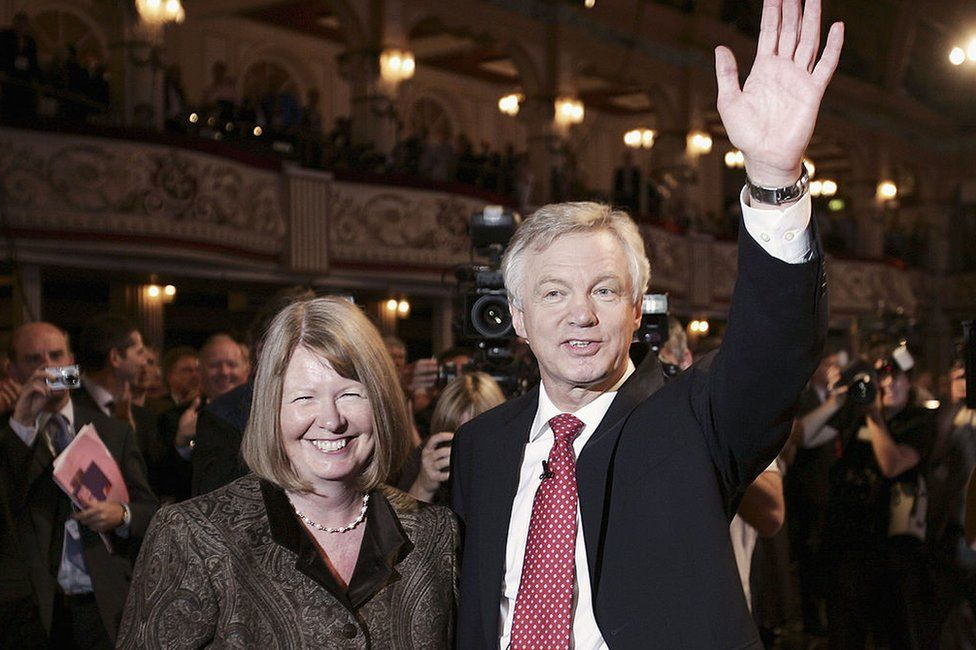 David Davis and his wife Doreen at the 2005 party conference