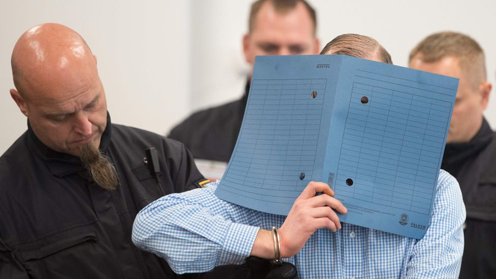 Suspect in court, 30 Sep 19