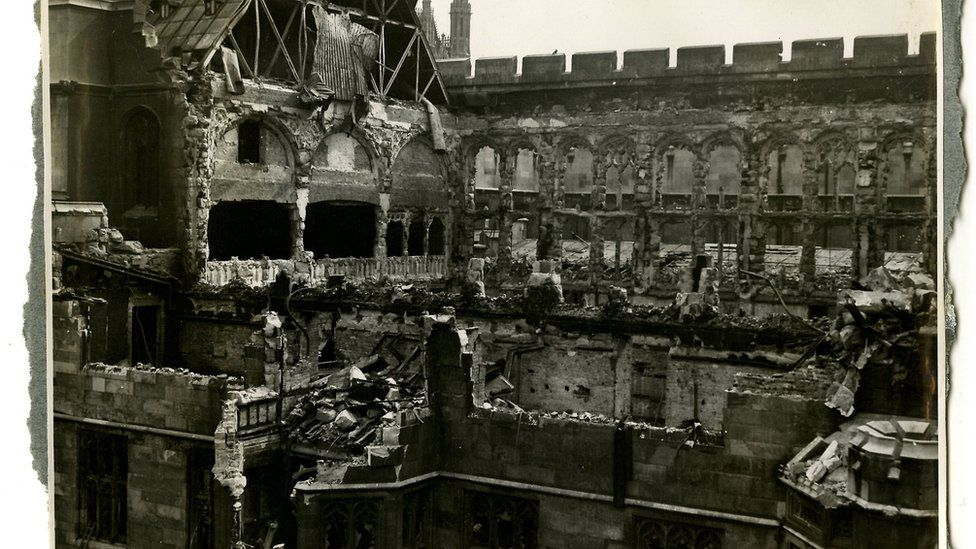 The House of Commons after the bombing
