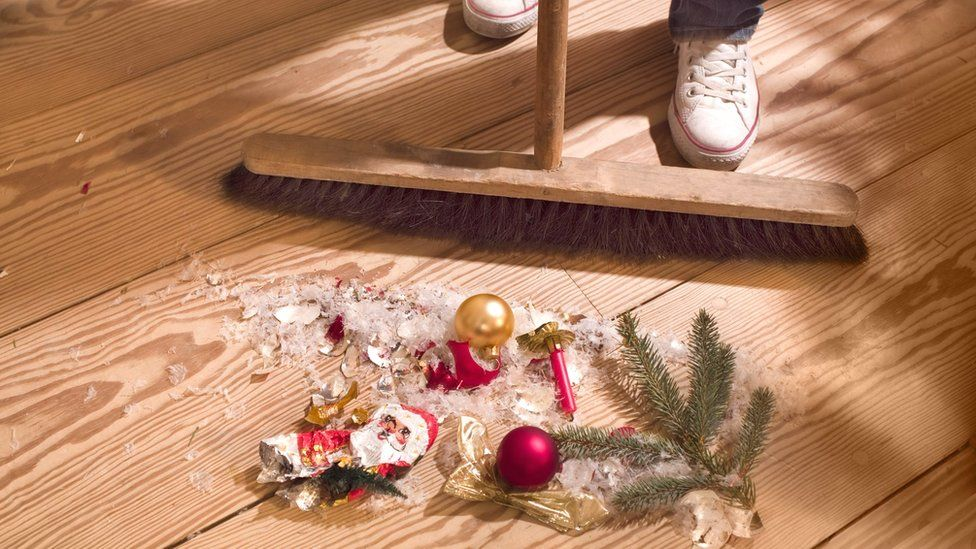 Christmas clean-up