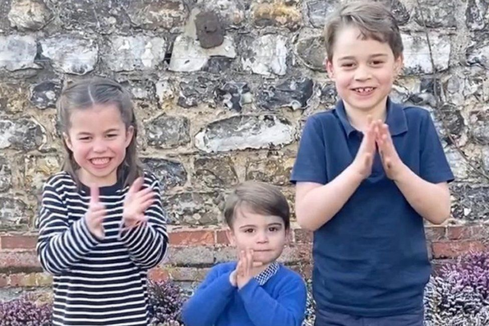 Princess Charlotte, Prince Louis, Prince George
