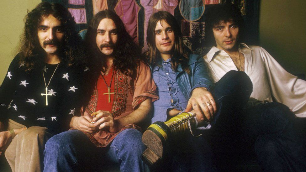 The band in the 70s
