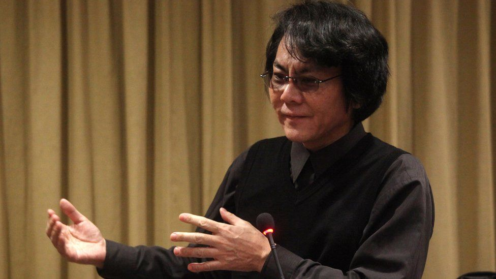 Professor Hiroshi Ishiguro addresses the Vatican's conference on Roboethics