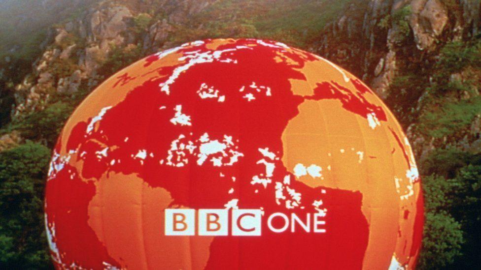BBC One balloon
