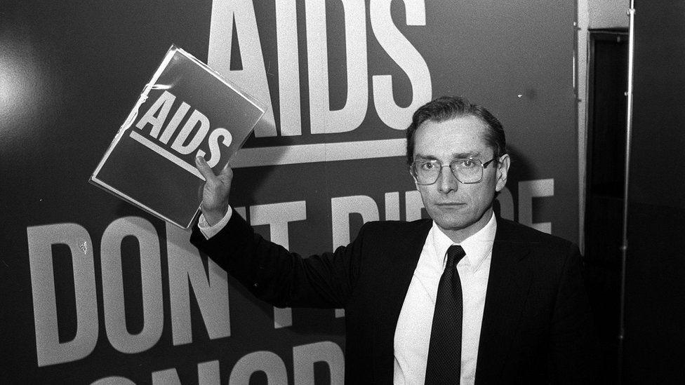 Health Secretary Norman Fowler