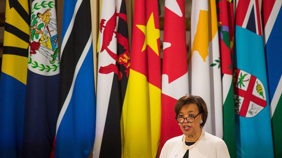 Commonwealth boss Lady Scotland