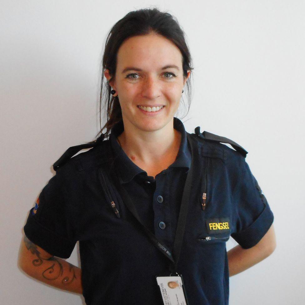 Linn Andreassen, prison officer