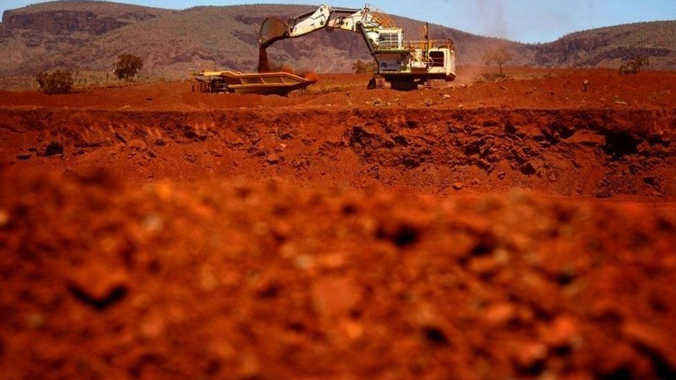 Fortescue Solomon iron ore mine, Western Australia - file photo