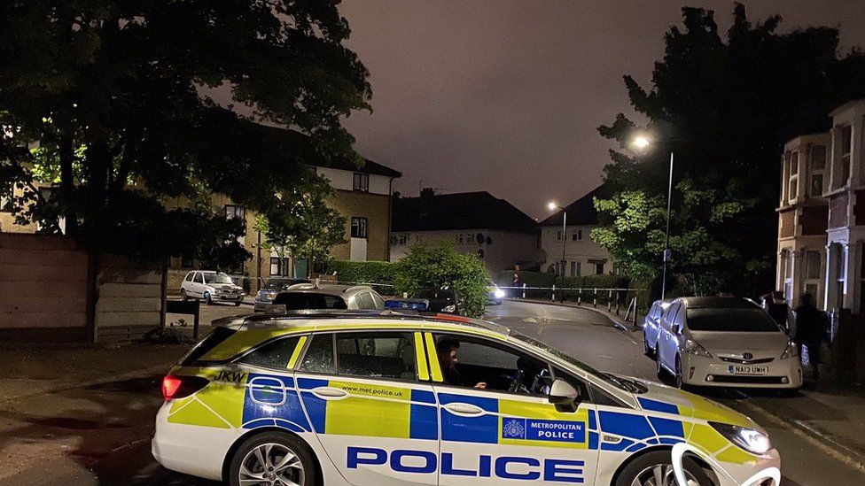 Officers were called to Energen Close in Harlesden