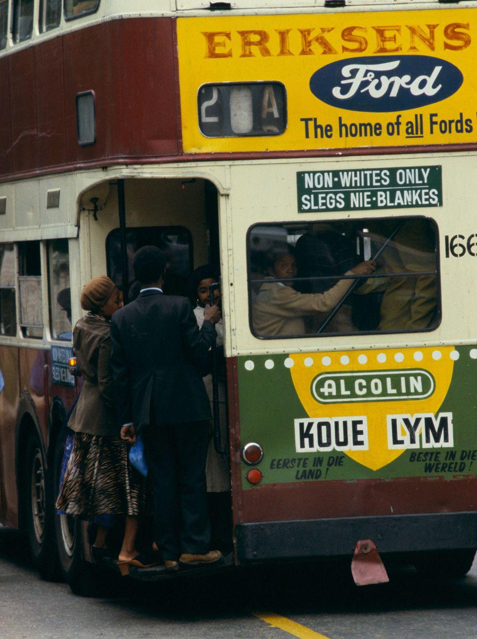 Transport was segregated
