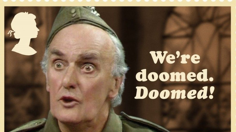 Don't panic! Dad's Army turns 50 with set of stamps - BBC News