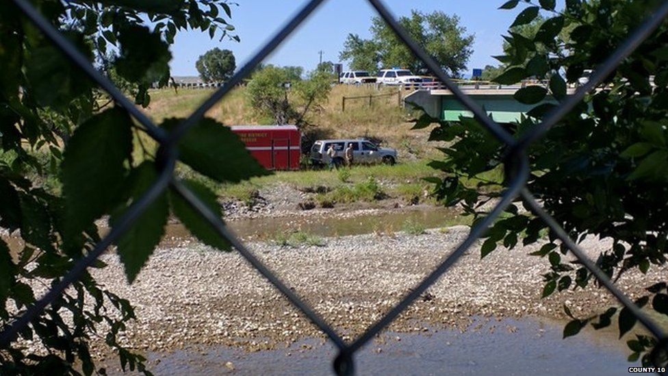 River where body was found