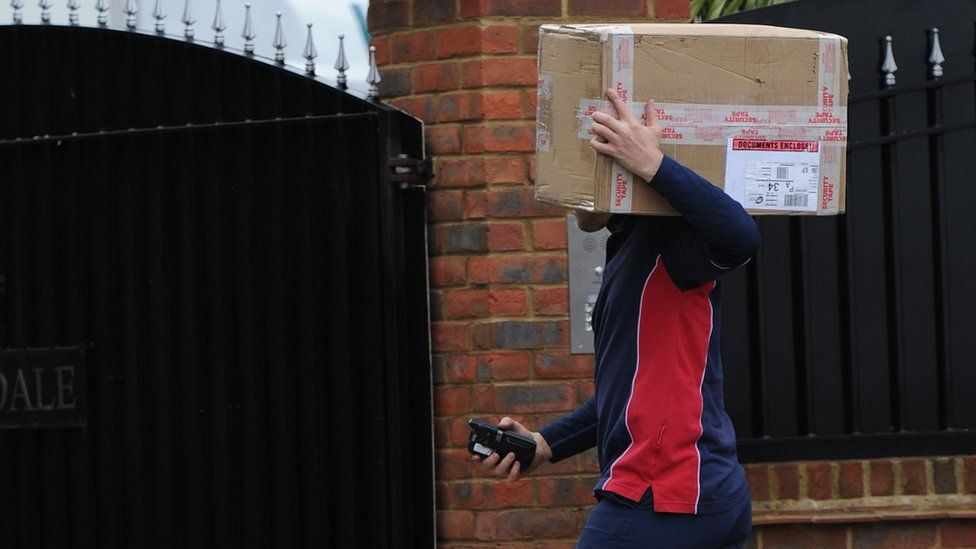 Some delivery drivers are working up to 17 hours a day over Christmas