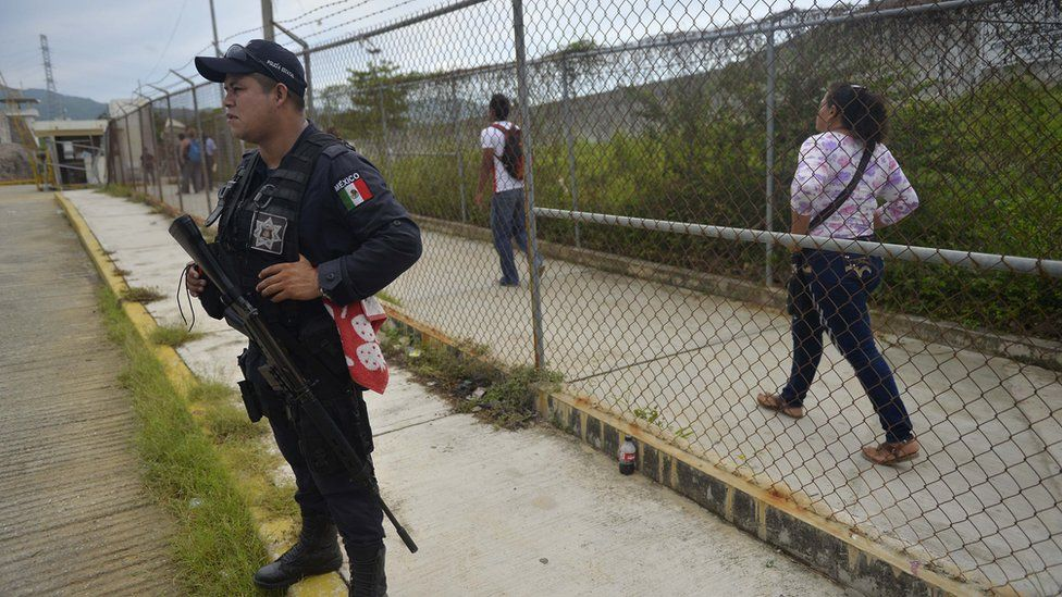 A riot at Las Cruces prison in Acapulco left 28 people dead in July
