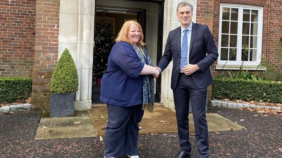Naomi Long and Julian Smith