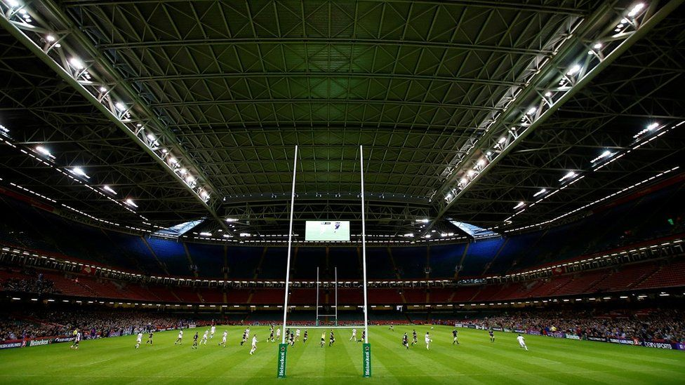 The Principality Stadium in Cardiff