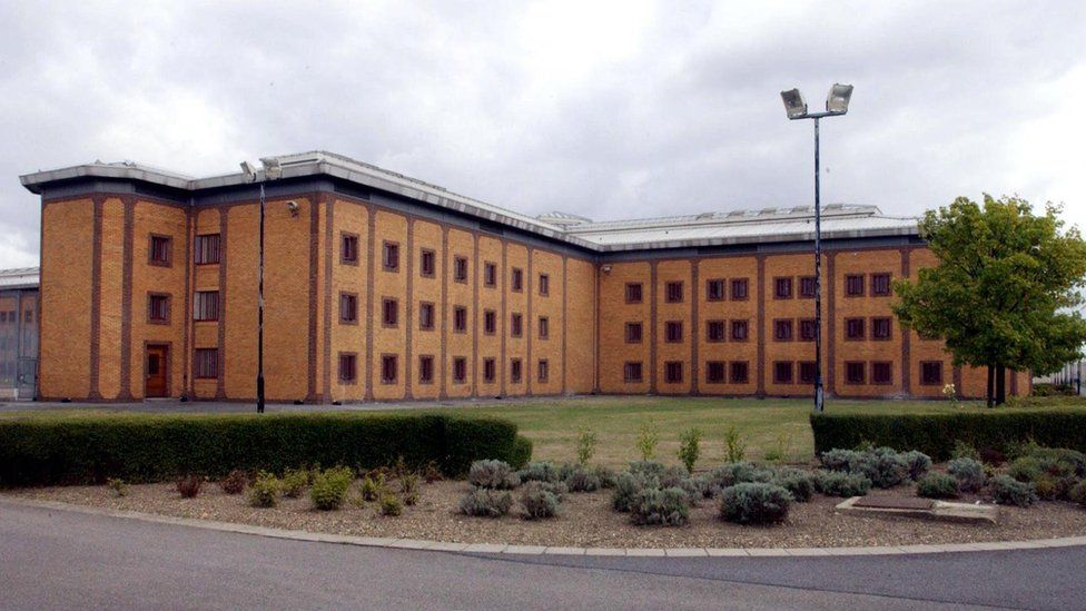 General view of the high security local prison, HMP Belmarsh