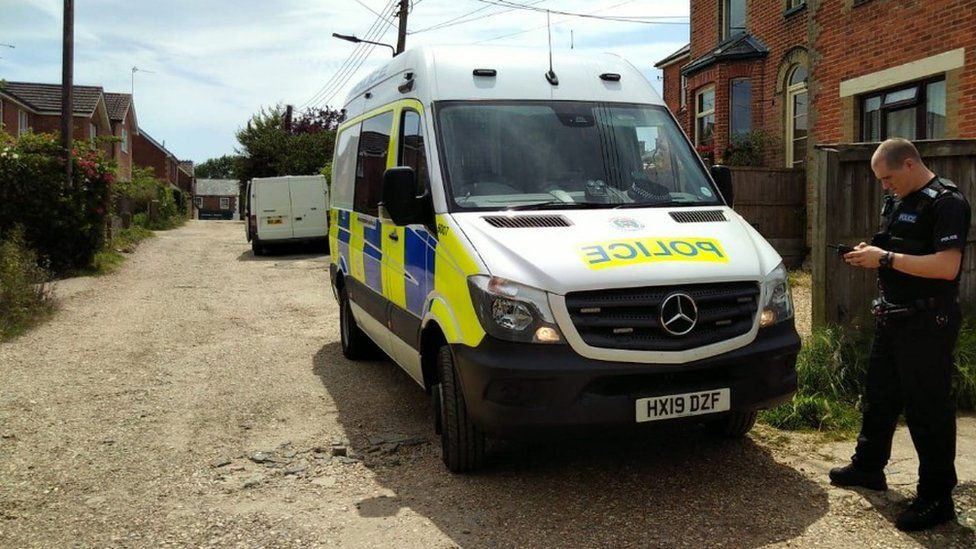 Police officers are continuing to carry out house-to-house inquiries