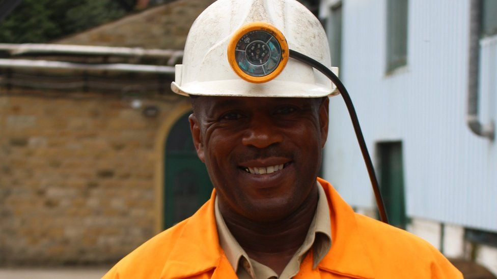 Garrey Mitchell said that below the surface black miners were not treated any differently when he worked in the pit in the 1970s
