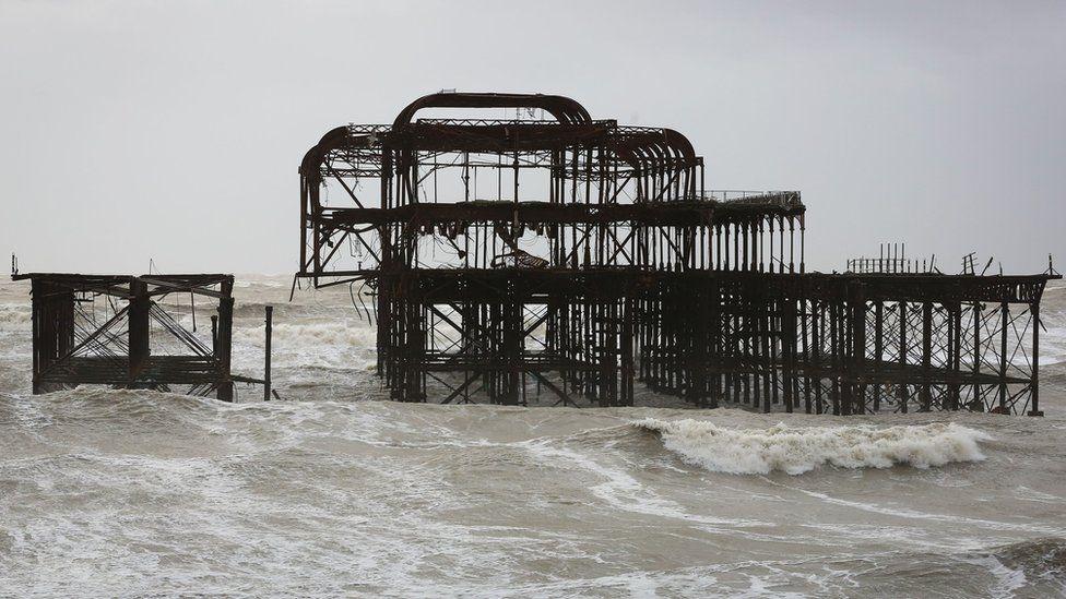 West Pier in February 2014
