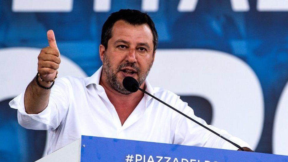Matteo Salvini, 4 Jul 20