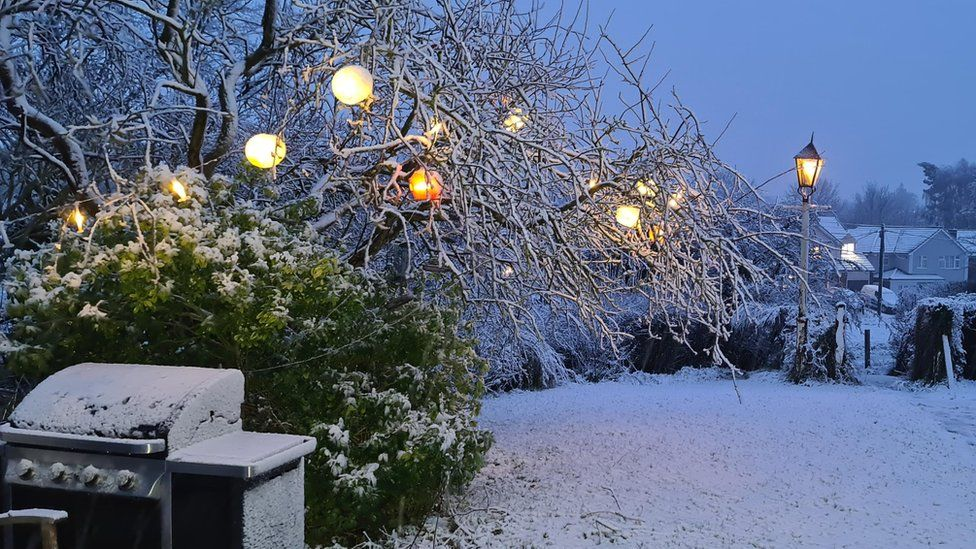 Snow in Great Bardfield