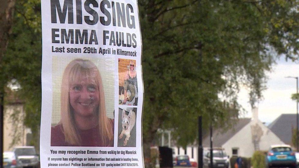 Missing Emma Faulds poster