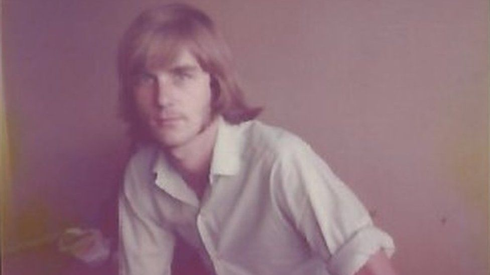 Stephen Simmons in the 1970s