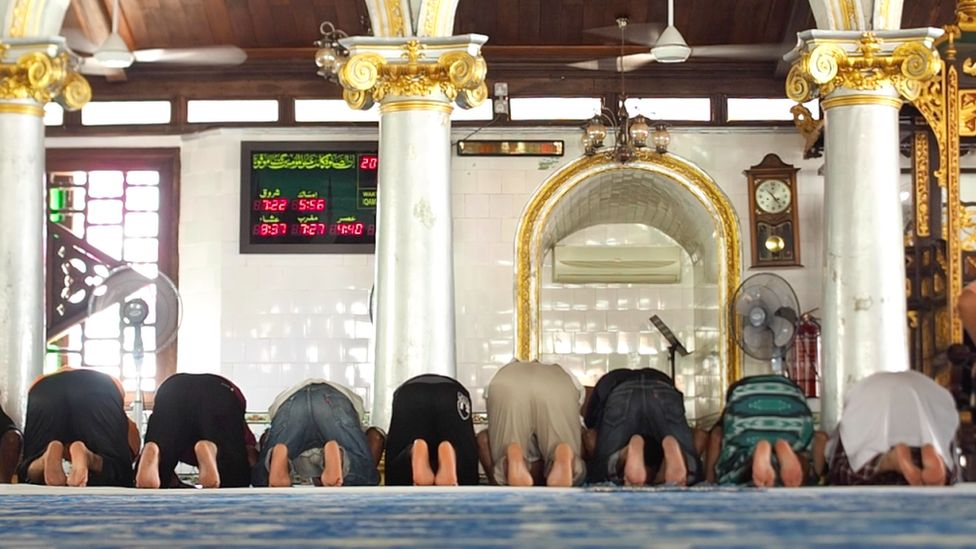 Harmony Street's mosque