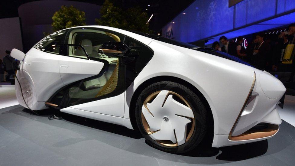 Toyota LQ Level 4 concept car