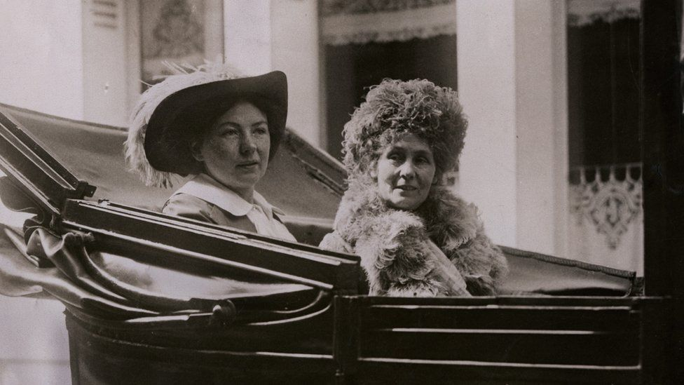 Christabel and Emmeline Pankhurst