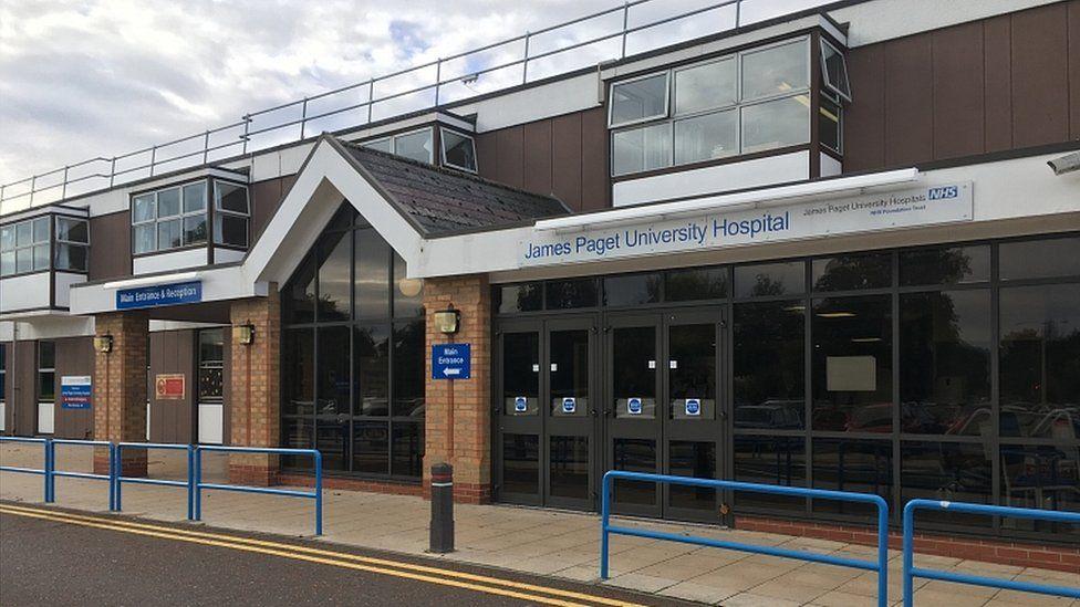 James Paget University Hospital