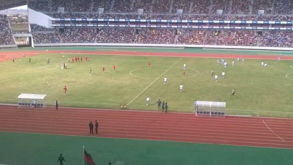 inside the Bingu stadium
