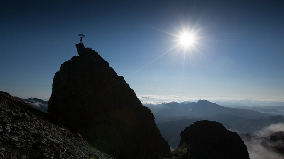 Danny Macaskill on Skye Ridge