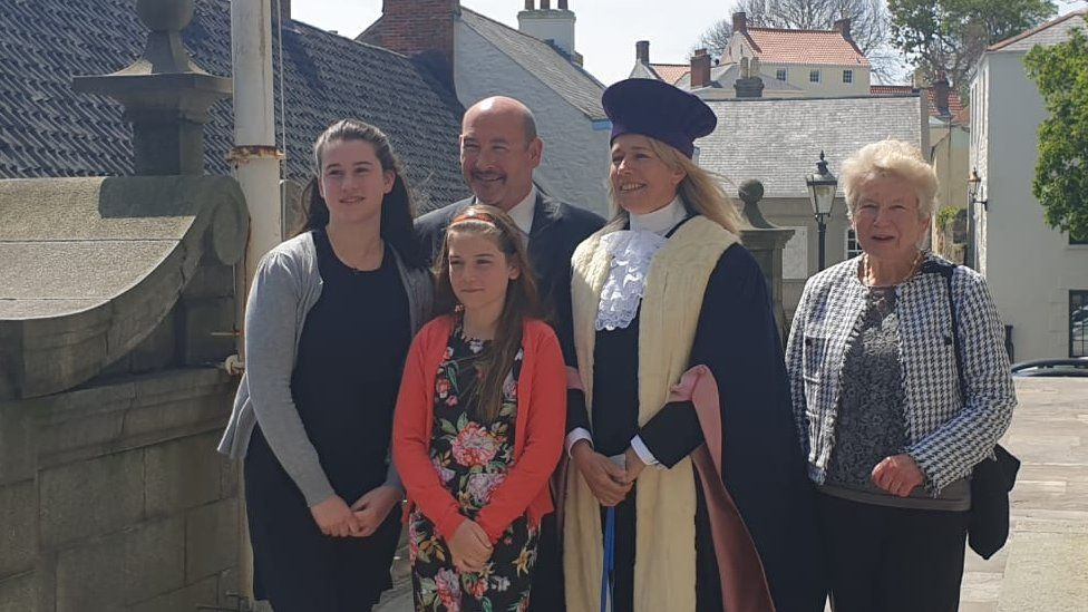 Jessica Roland and family