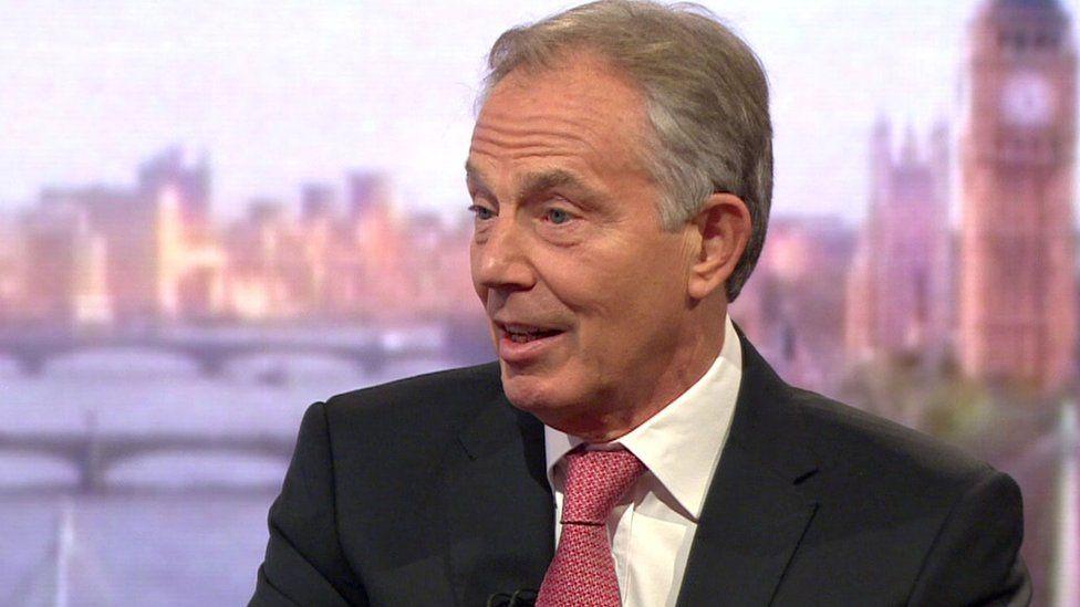 Tony Blair on the Andrew Marr show