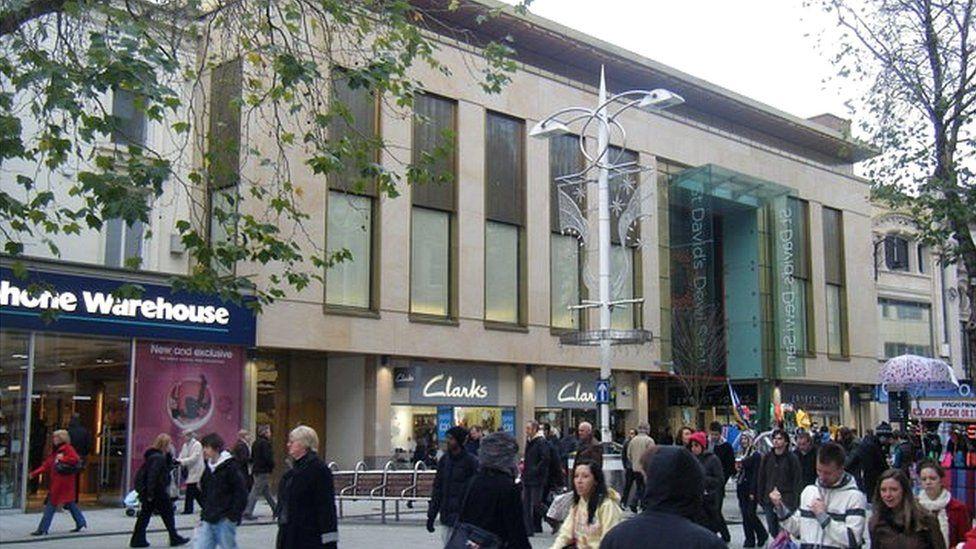 St David's shopping centre