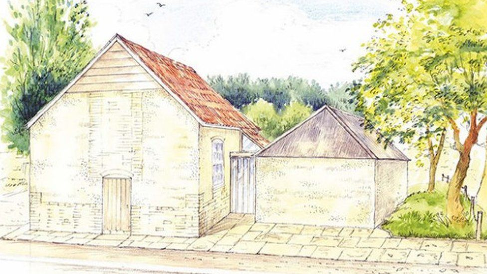 An artist's impression of how the chapel would look